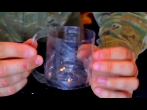 How to Make a Recycled Plastic Mug out of a Bottle