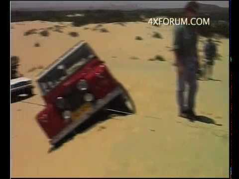 4x4 Recovery from a side slope