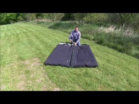 How to zip two sleeping bags together | Innovative Family Camping