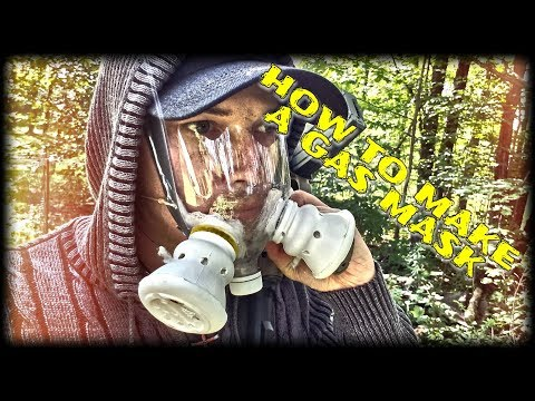 DIY GAS MASK / HOW TO MAKE A SODA BOTTLE GAS MASK