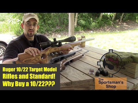 Ruger 10/22 Rifle - Target and Standard Versions