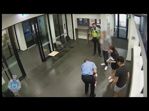Caught on camera: hero officer in Australia rescues choking baby
