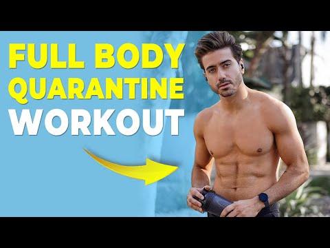 Quarantine BODYWEIGHT Workout *NO EQUIPMENT NEEDED*