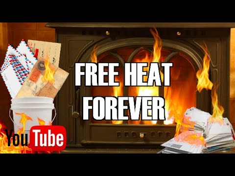 FREE HEAT FOREVER! (DIY)