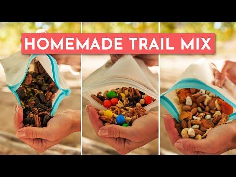 HOMEMADE TRAIL MIX [3 WAYS]