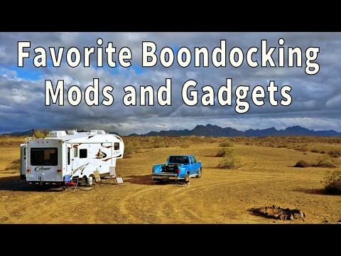 Love Your RV! Boondocking Mods and Gadgets