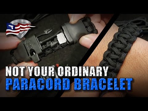 How To Make The Ultimate Paracord Survival Bracelet