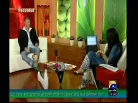Ricky Megee 1st Tv Nadia khan show Part 2