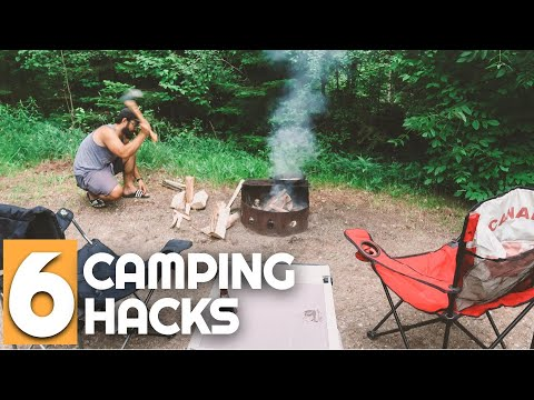 Top 6 Camping Hacks and Tips | Camping for Beginners