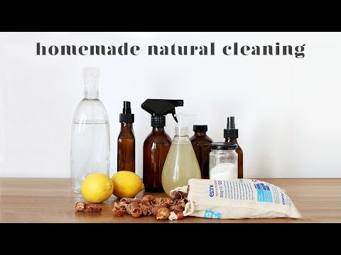 20 DIY NATURAL CLEANING RECIPES, TIPS AND HACKS THAT ACTUALLY WORK!