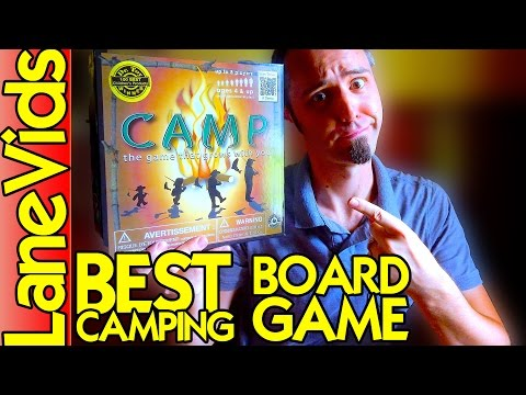 Best Camping Board Game? | Education Outdoors Camp Board Game Review for Adults & Kids