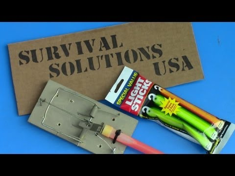 """""""Glow Stick Booby Trap"""" by Survival Solutions USA"""