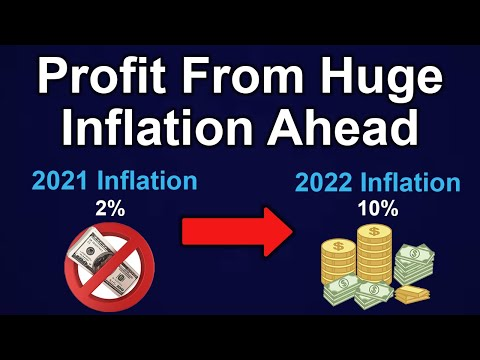 How To Profit From Huge Inflation Ahead (For Beginners)