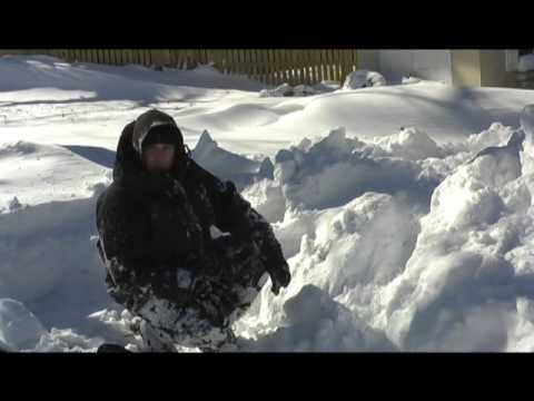 How to Build a Snow Shelter for Wilderness Survival Part 1, Equip 2 Endure