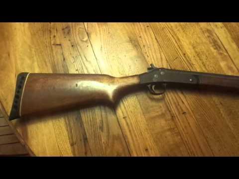 H&R single shot 12 gauge shotgun - Excellent choice for those on a budget