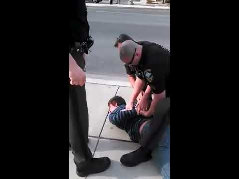 Police Brutality Caught On Camera!!! Man Tased 12 Times And Kicked In The Head!!