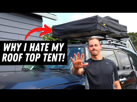 5 SURPRISING REASONS YOU SHOULDN'T BUY A ROOF TOP TENT!!