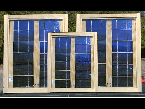 """How to make solar panels! - COMPLETE BUILD w/full """"detailed"""" Instructions - Easy DIY"""