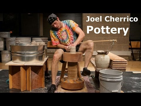 Former Pottery World Record: 159 Pots In One Hour On A Kick-Wheel