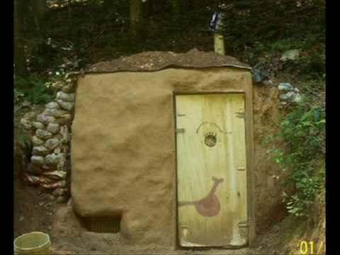 building the root cellar