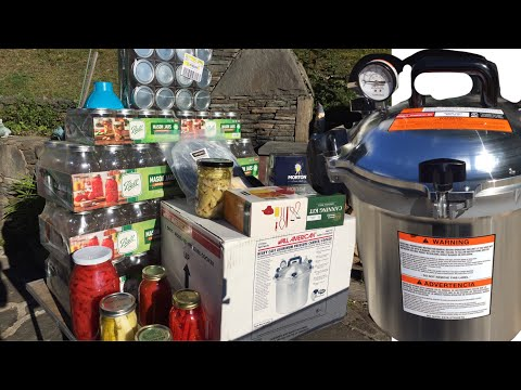 ALL AMERICAN 921 PRESSURE CANNER UNBOXING - BEST of 2020 Canners