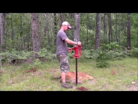 Installing a Sand Point Well at the Off-Grid Cabin