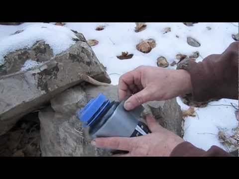 Duct Tape Fire Starter w/magnesium bar