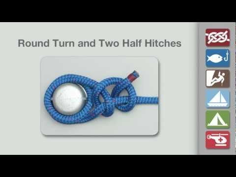 Round Turn Two Half Hitches | Round Turn Knot
