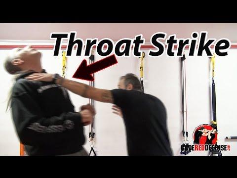 Throat Strike (Effective Self Defense Move)
