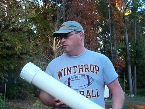 Making a simple & inexpensive survival cache using PVC pipe