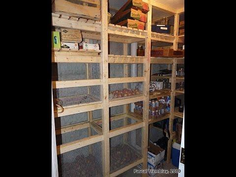 Cold Storage Room In Basement - Building Guide Design Idea
