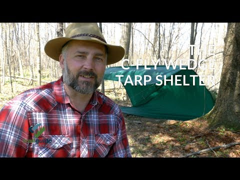 The C-Fly Wedge Tarp Shelter - A Classic Tarp Layout