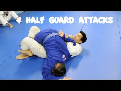 Half Guard   Triangle, Kimura, Ezekiel and Baseball Bat Choke with Professor Kris Kim, Seoul, Korea