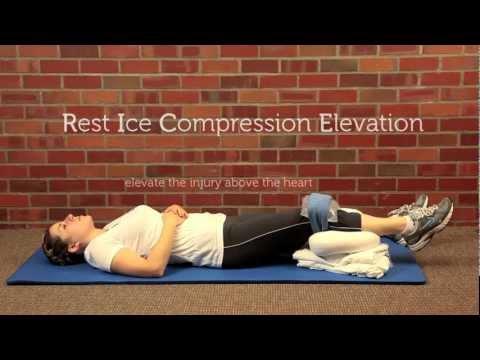 How to Correctly R.I.C.E. an Injury