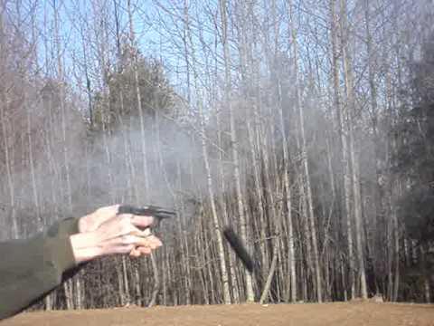 22 pistol explodes when i shoot