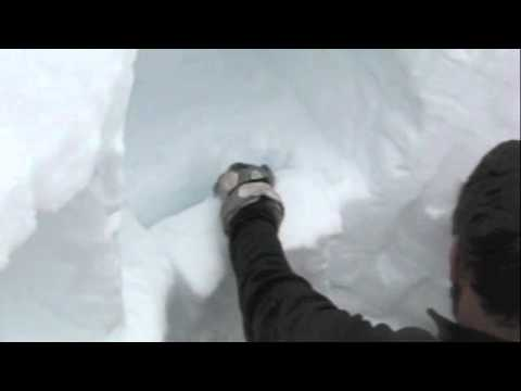 How to build a snow cave step by step