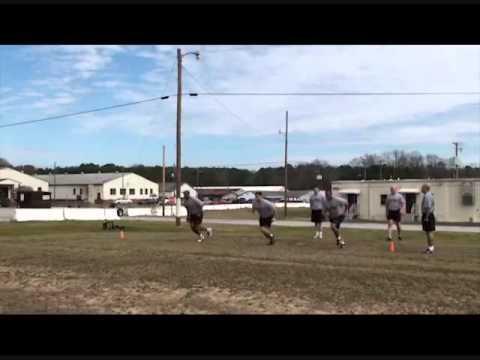 Military Movement Dril - Shuttle Sprint