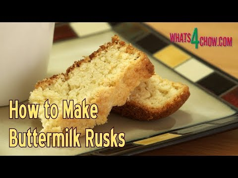 How to Make Buttermilk Rusks - Crunchy Dunking Biscuits!!!