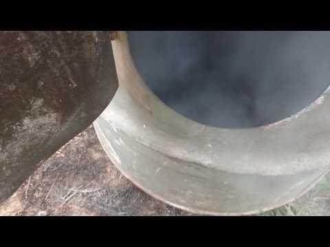 Part 1 to smoke house build fire box