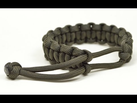 Make a Mad Max Style Paracord Survival Bracelet THE ORIGINAL - Boredparacord.com