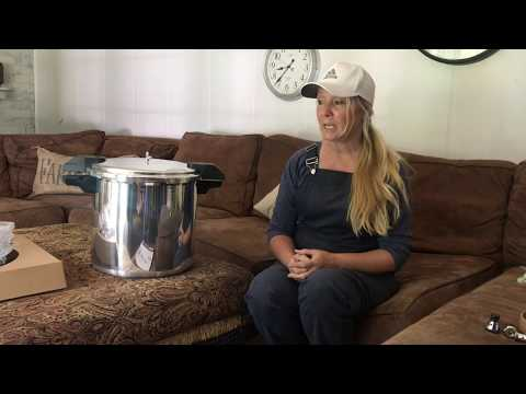 Unboxing and Reviewing Mirro 22 quart Pressure Canner