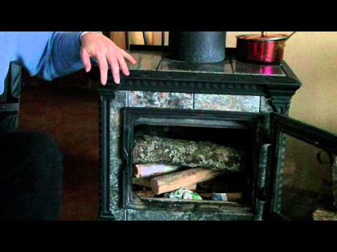 How To Start A Fire In Your Wood Stove