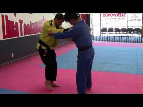 KTS BJJ Outside Leg Sweep Take-Down (Variation 1)