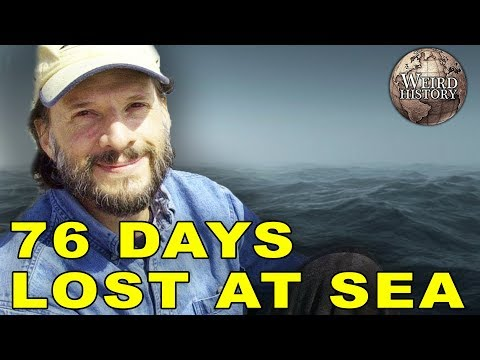 Steve Callahan | Survived Being Adrift At Sea for 76 Days
