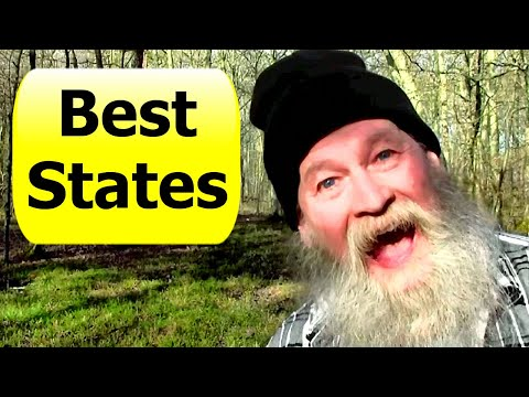 Top 9 States - Best State For Off Grid Living