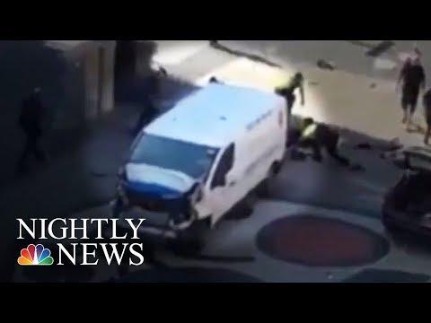 Barcelona Terror Attack: 13 Dead, Dozens Injured   NBC Nightly News