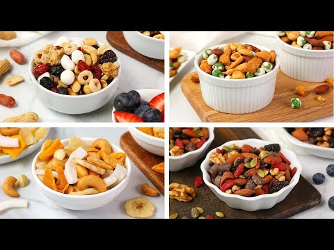 4 Healthy Trail Mix Recipes   Easy + Delicious Snack Ideas