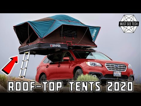 8 Roof Top Tents Turning Your Car into a Camper in 2020