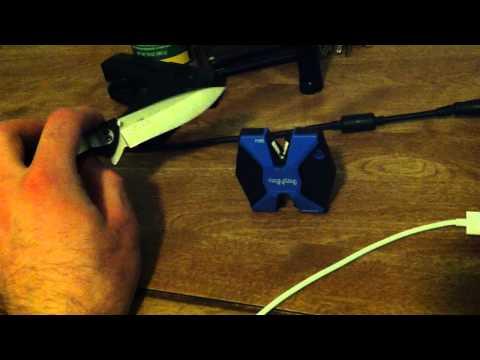 SharpNeasy knife sharpener review.