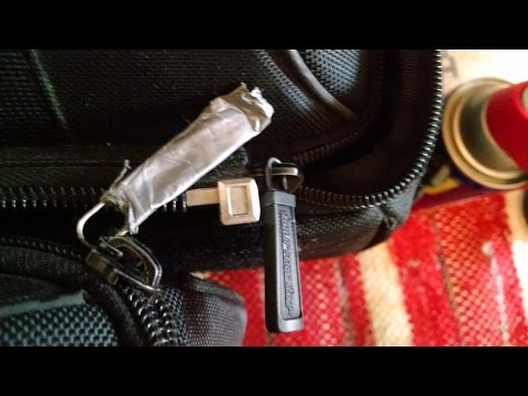 How to Open & Close The Zipper with a Paperclip - Part# 2